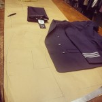 The making of the suit in our workshop