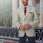 picture of man wearing a bespoke suit