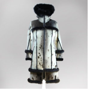 Seal Skin Fur Coat