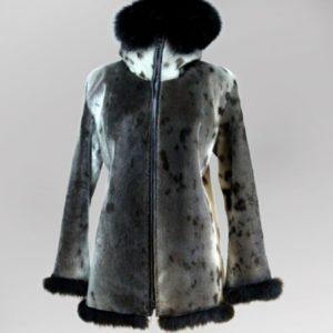 Ladies Seal Skin Coat