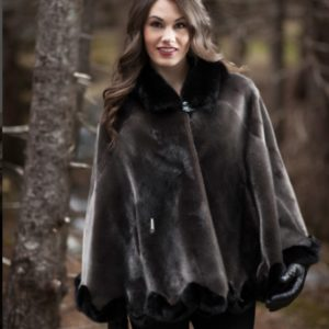 Seal & Mink Cape